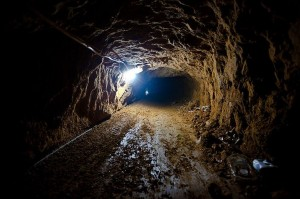 Smuggling tunnels to the Gaza Strip have been destroyed by the Egyptian military.