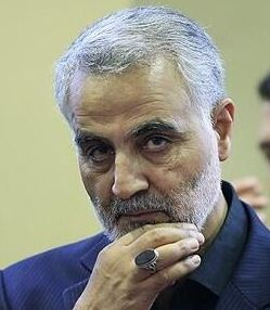 Qassim Solemani, the head of the IRGC-QF