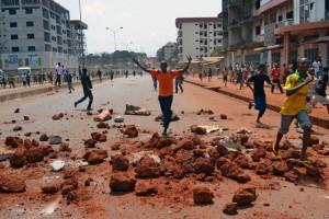 Guinea protest