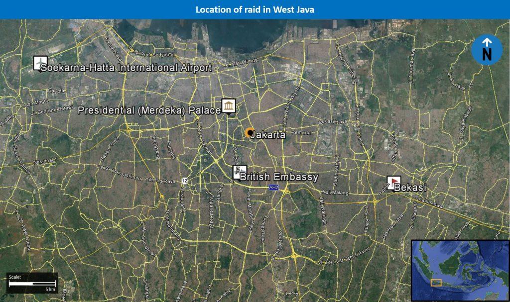 Jakarta Indonesia Incident Map