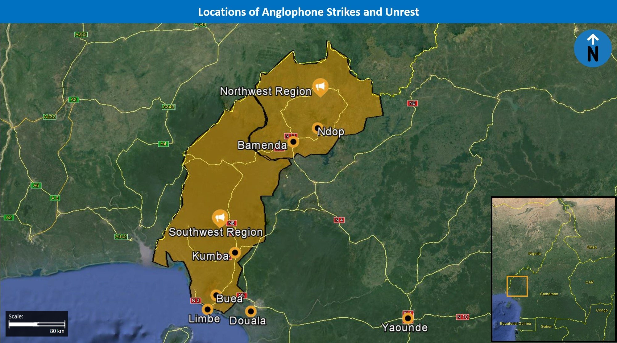 Cameroon Analysis: Will Anglophone strikes continue in coming weeks amid grievances from Western Cameroonians? | MAX Security