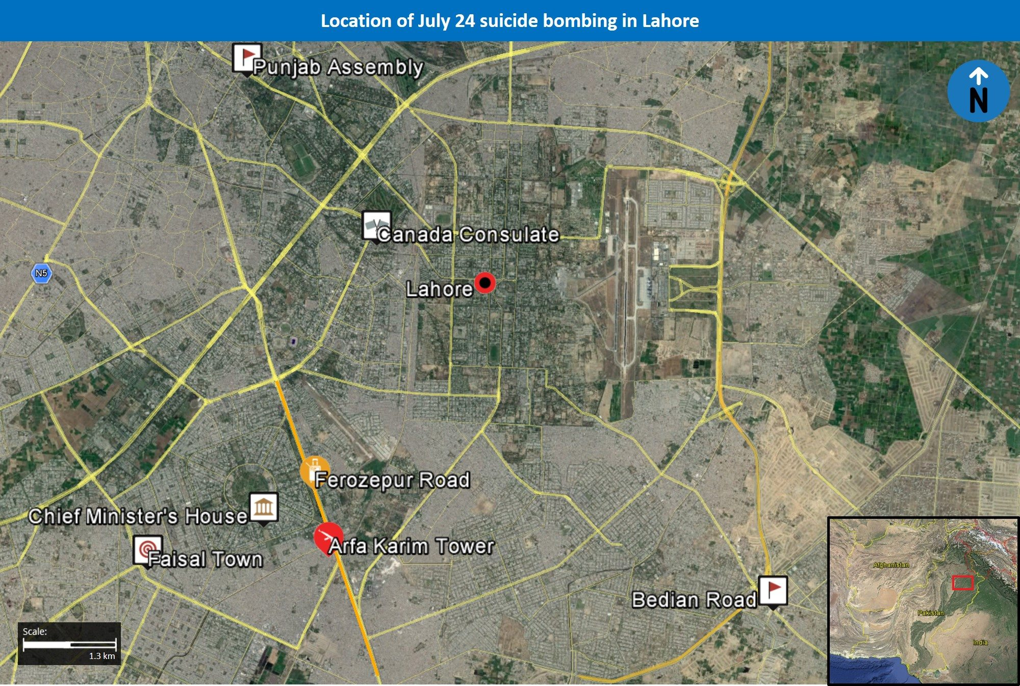 What does the July 24 Lahore suicide bombing say about the TTP militant group's changing influence in the city - Pakistan Analysis   MAX Security