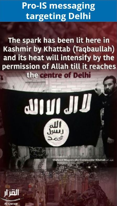 Increase in jihadist messaging reflects competition between IS, AQIS; immediate operational focus likely to be in Kashmir - India Analysis | MAX Security