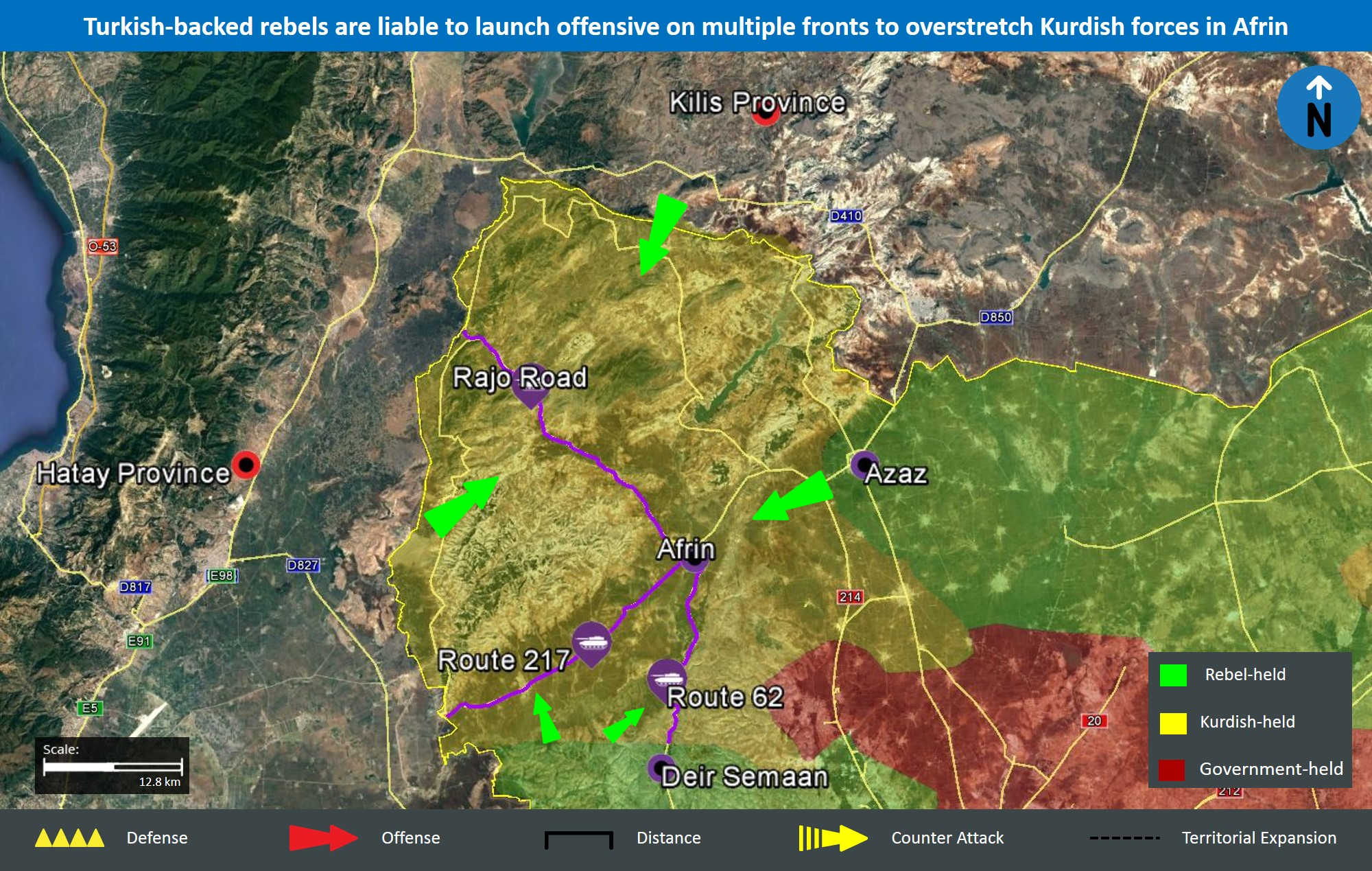 Turkey's military campaign aims to secure interests in northern Syria, mitigate Kurdish militant threat - Turkey & Syria Analysis | MAX Security