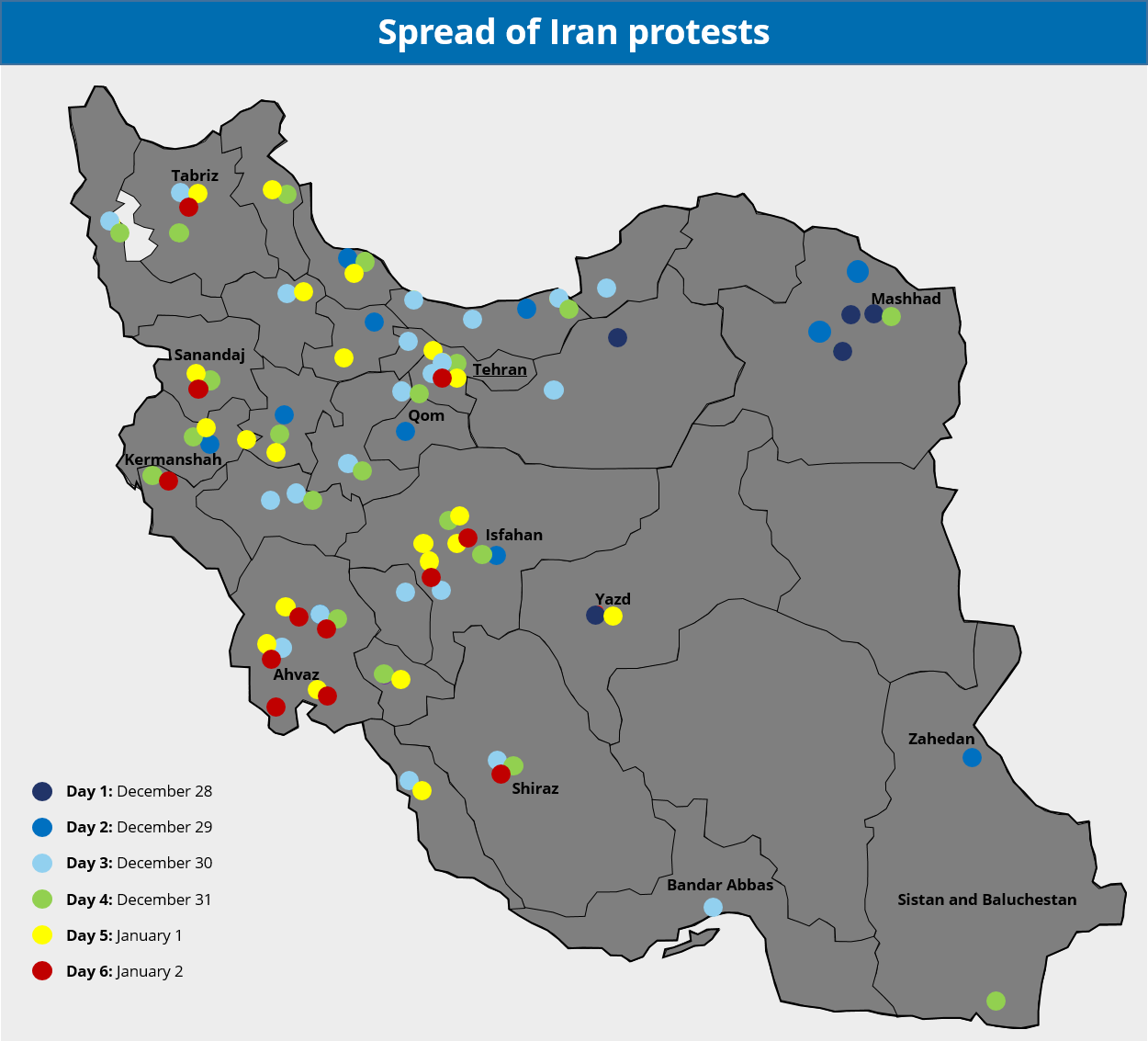 Widespread unrest reflects discontent with Rouhani's economic policies, money spent in regional conflict; protests likely to subside - Iran Analysis | MAX Security