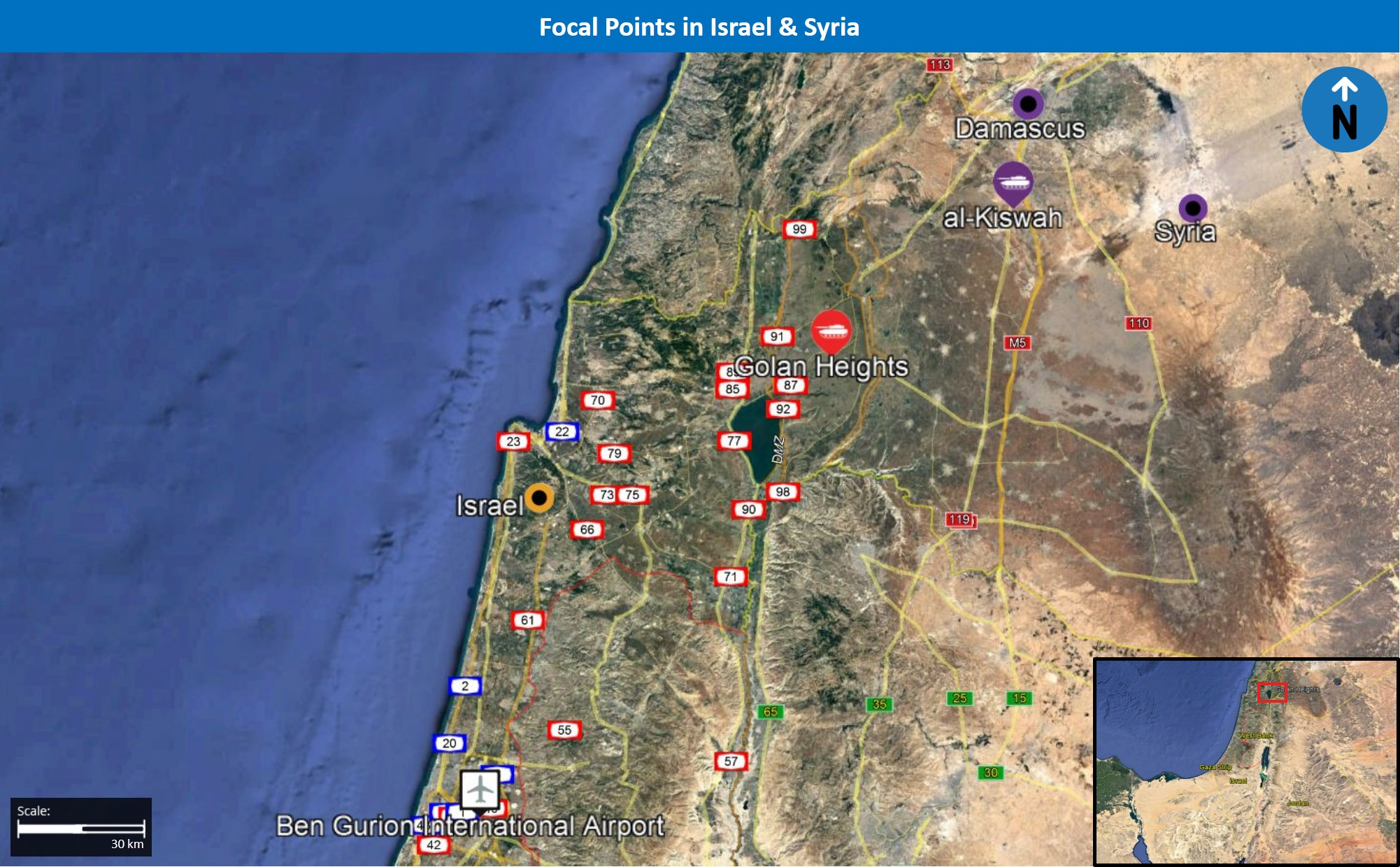 Israeli Air Force targets Syrian air defense system, Iranian bases in Syria during morning hours of February 10 - Israel & Syria Alert | MAX Security
