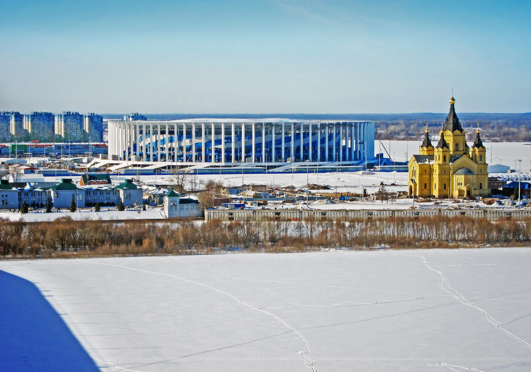 Nizhny Novgorod Stadium (March 2018)