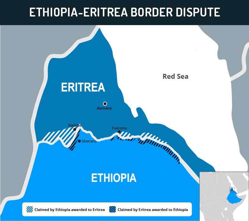 Map Of Africa Eritrea.Ethiopia Eritrea Peace Deal Provides Momentum To Regional Reform