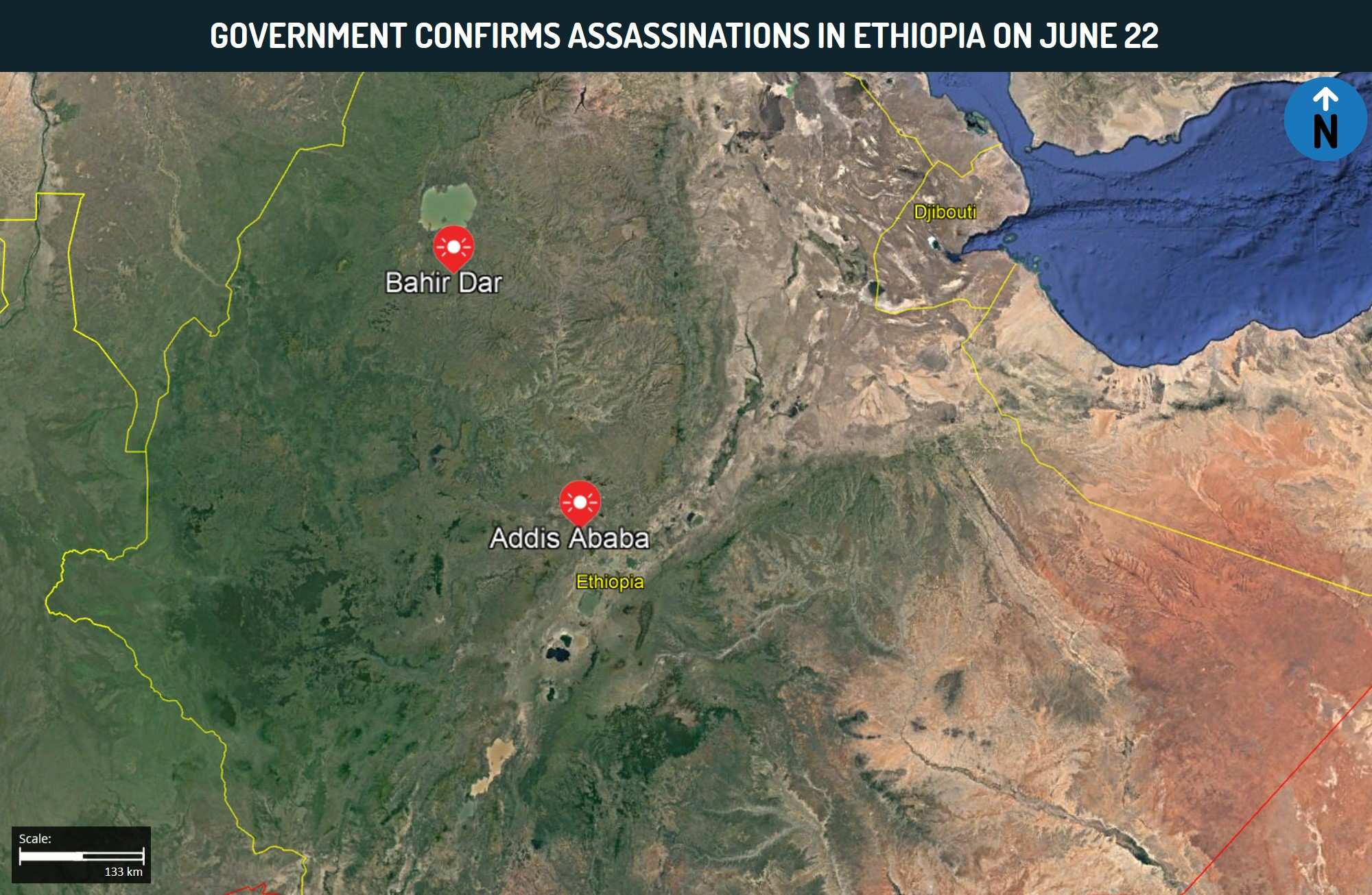 Government Confirms Assassinations in Ethiopia on June 22