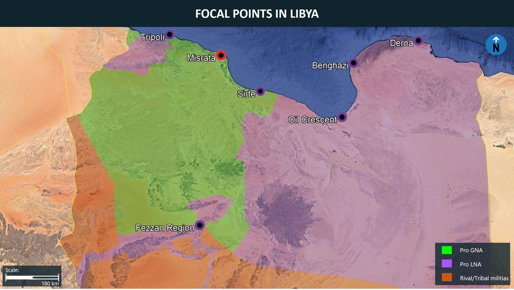 Focal Points in Libya