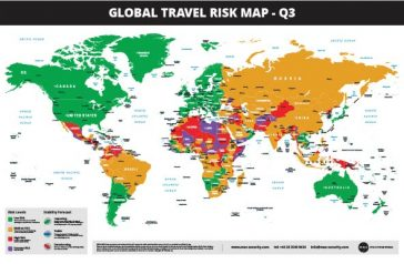 Updated 2019 Global Travel Risk Map