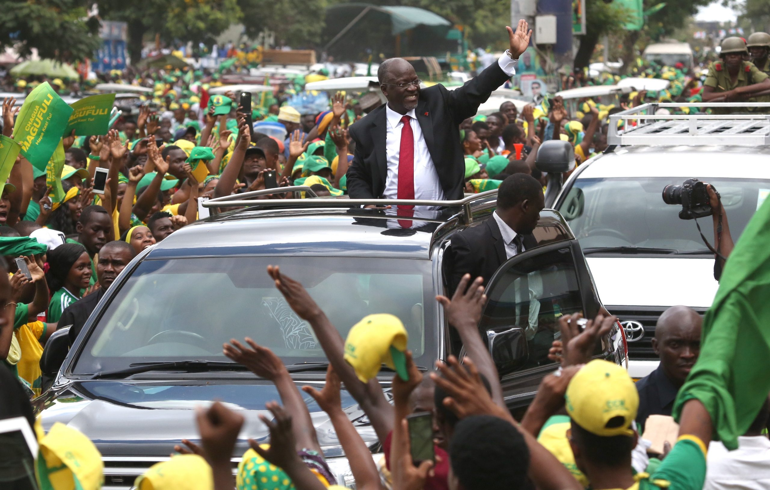 President John Magufuli expands authoritarian policies to constrain  opposition, consolidate power within ruling CCM party ahead of October  elections - Tanzania Analysis | MAX Security